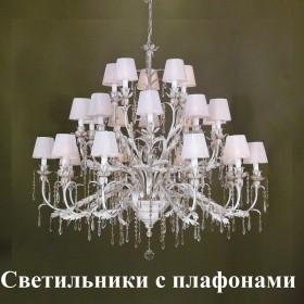 Светильники с плафонами