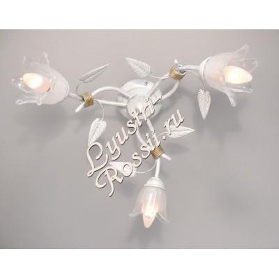Азалия 3 лампы Белая