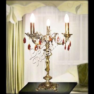 Настольная лампа Бронза 3 лампы