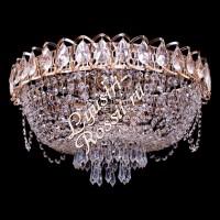 Катерина Ажурная 3-5 ламп с обвесом