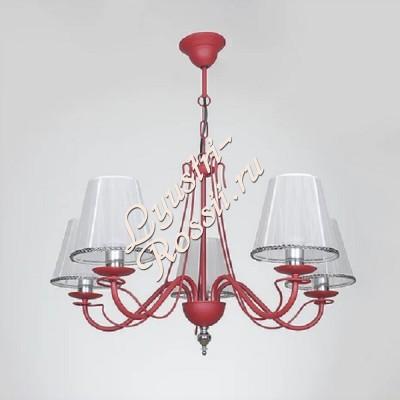 Амстердам 5 ламп Красный