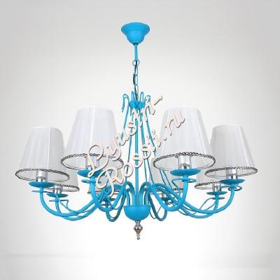 Амстердам 8 ламп Синий