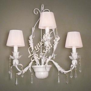 Бра Серия - Ригонда 3 лампы Белая