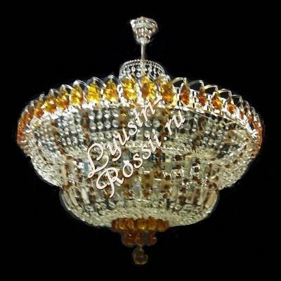 Водопад 5- 8 -11 ламп Журавлик весь Цветной с подвесом