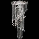 Длинные Каскадные хрустальные, настенные светильники - Бра