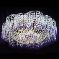 Лотос 4- 6 ламп Карандаш Цветной