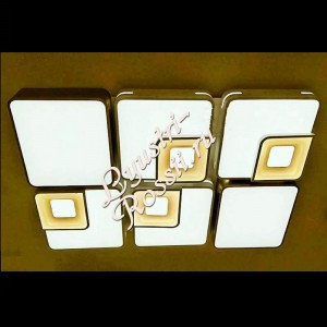 Светодиодная прямоугольная люстра LED - 00283