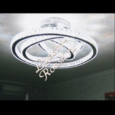 Светодиодная люстра в интерьере LED -0062