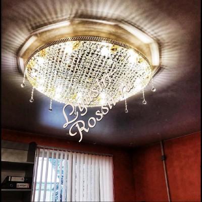 Кольцо 8 ламп -007 Сетка в интерьере