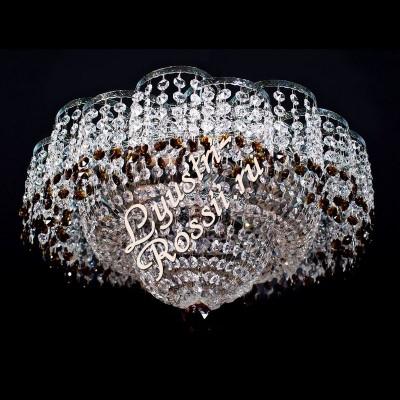 Ромашка 3 лампы Цветная -015
