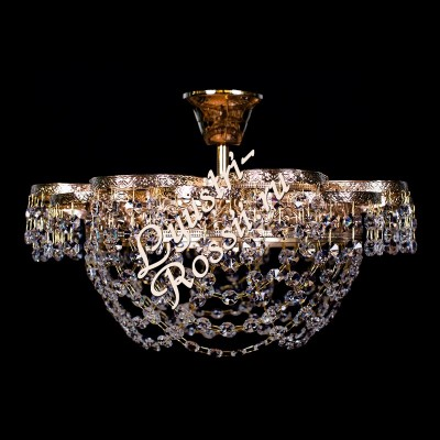 Ромашка 1 лампа с подвесом -016