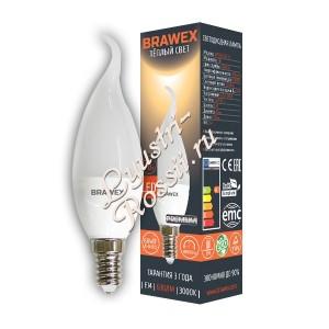 Светодиодная свеча на ветру мягкий свет