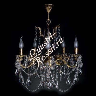 Бронза 6 ламп облегченная Журавлик