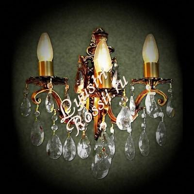 Бра Бронза 3 лампы