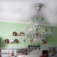 Фонтан 3- 5 ламп Шары Цветные