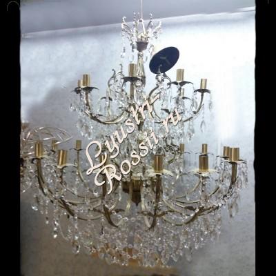 Латунь-Свеча Большая 18 ламп