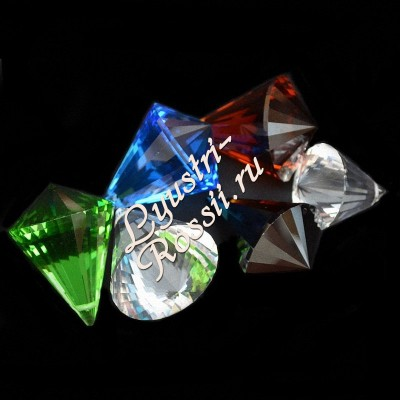 Акация Пирамида Конус 1-3-4 лампы Цветная