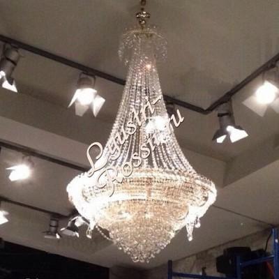 Кольцо-пирамида 10- 12 ламп с подвесом